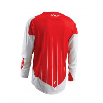 Thor CORE CONTRO WHITE_RED Jersey 2016 back